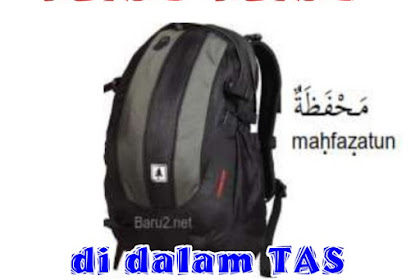 MATERI BAHASA ARAB KELAS 1 - BENDA BENDA DIDALAM TAS (الكائنات في أكياس)
