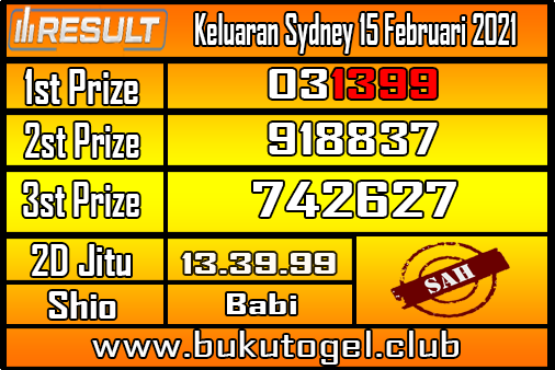 Keluaran Sydney 15 Februari 2021