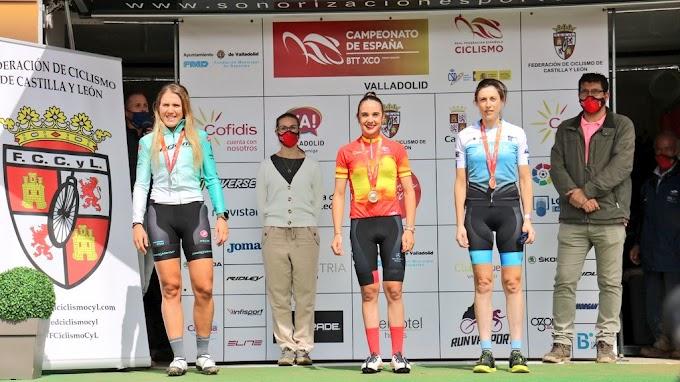 Lara Lois y Pablo Rodríguez elevan a cuatro los bronces conseguidos por gallegos en el Campeonato de España de Mountain Bike
