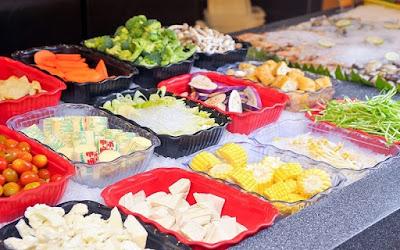 Seoul Garden Buffet Vegetable Selection