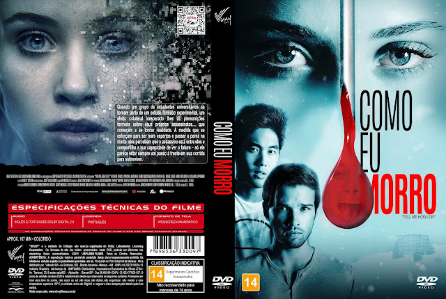 Capa DVD Como Eu Morro [Exclusiva]
