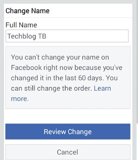 Facebook me naam change kaise kare how to change Facebook profile name