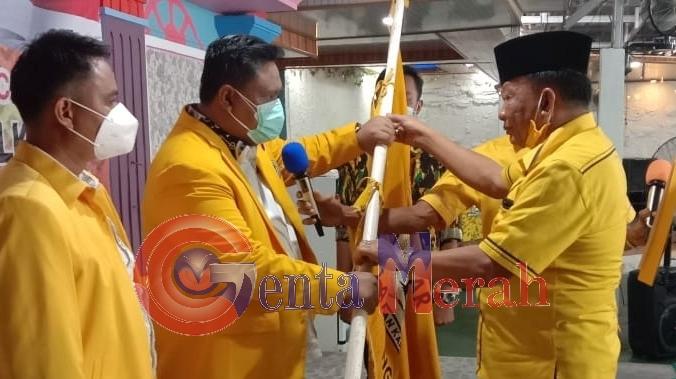 Arnando Ferdiansyah Kembali  Pimpin Golkar Kecamatan Kobum
