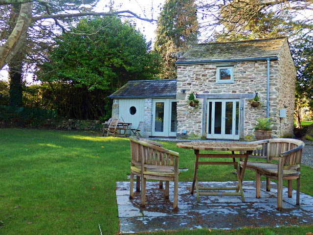 Stone Barn holiday cottage, Pinetum Gardens, Cornwall