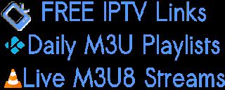 Latest M3U Playlists Free Smart-TV List Kodi Pvr