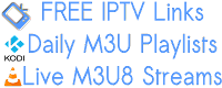 28 New Smart IPTV M3U Playlists 13 November 2018