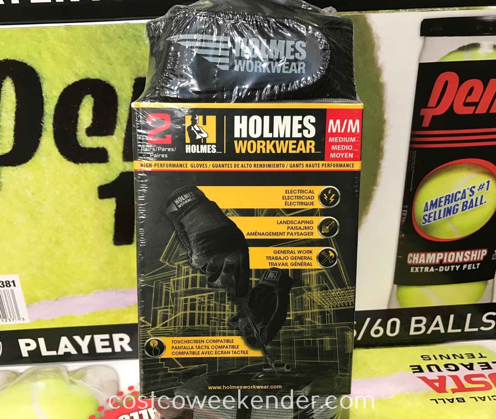Protect your hands when doing some work with Holmes Workwear High-Performance Gloves