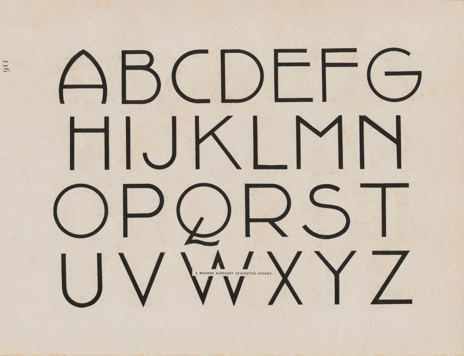lettering alphabets and numerals