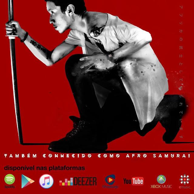 """Yannick (Afro Samurai) lança o album """"Tambem conhecido como afro samurai"""" nas principais plataformas digitais"""
