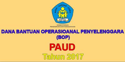 DOWNLOAD RKAS BOP (TK/PAUD) TERBARU TAHUN ANGGARAN 2017