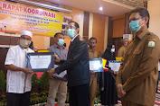 Pidie Jaya Raih Penghargaan Tercepat Penyaluran BLT-DD 2020