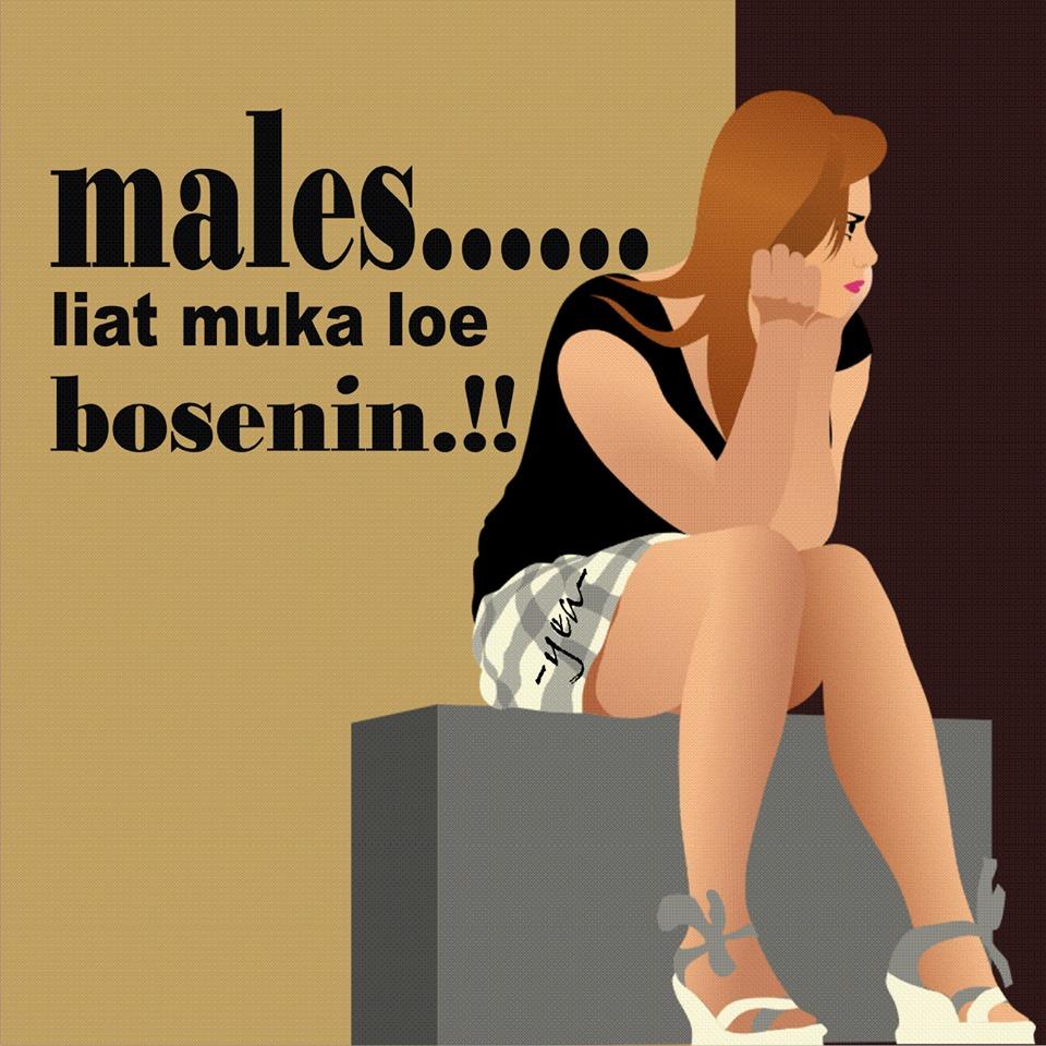 Gambar Komentar Facebook Gede Bego Ngancam Males Lucu