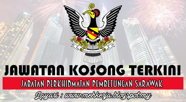 Jawatan Kosong Terkini 2016 di  Jabatan Perkhidmatan Pembetungan Sarawak