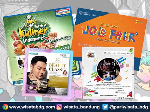 Jadwal event Bandung Oktober 2019