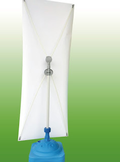 standee chống gió 1 mặt poster