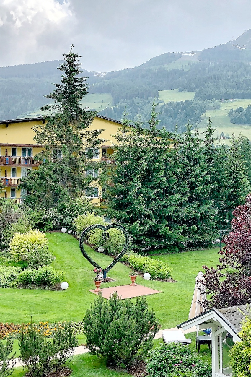Garten Verwöhnhotel Bismark