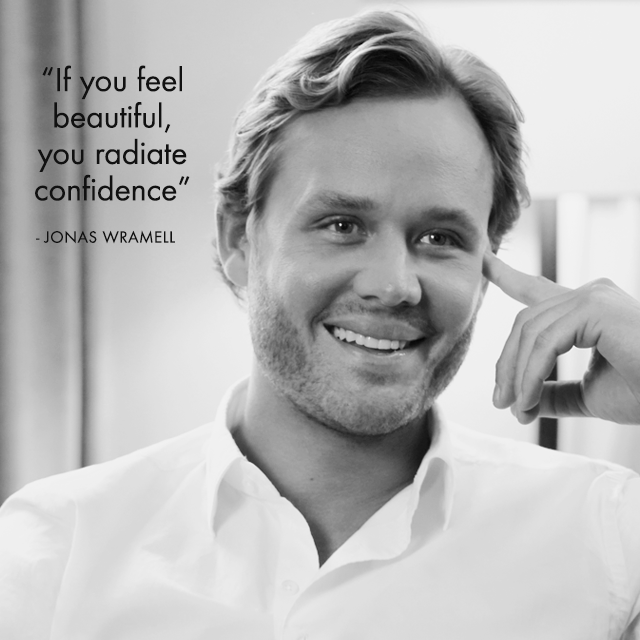 If you feel beautiful, you radiate confidence