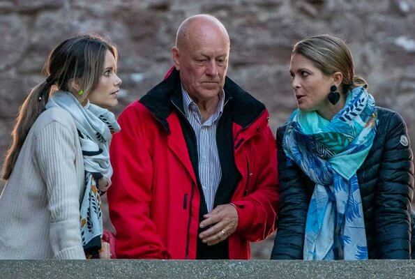 Queen Silvia, Princess Sofia and Princess Madeleine and Erik Hellqvist. Crown Princess Victoria Victoria wore H&M jacket