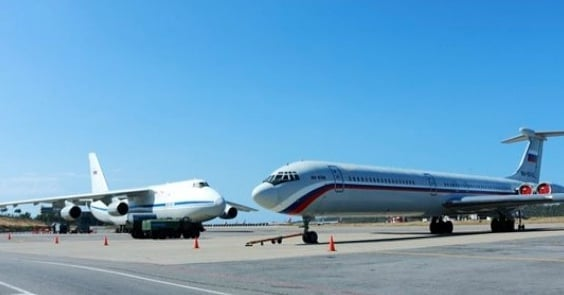 Image Attribute: An-124 and Il-62 accompanying Tu-160s in Venezuela / Source: Twitter