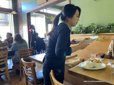 dining room at Anchalee Thai Cuisine in Berkeley, California