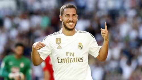 Hazard chưa để lại nhiều tuyệt hảo chỉ trong màu áo Real