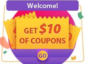 احصل على كوبون خصم بقيمة 10$ مجانا مع Cesdeals