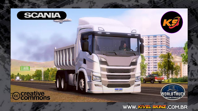 SCANIA P320 - TEMPLATES BASES