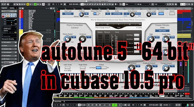autotune 5  BY ANTARES -  VST3, x64