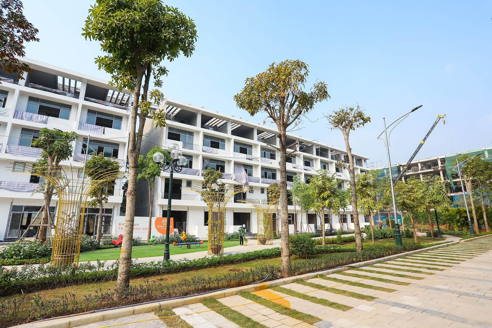 Tiến độ Bình Minh Garden đã hoàn thiện 99% tính đến tháng 5 năm 2020!