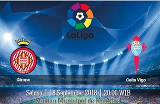 Prediksi Girona vs Celta Vigo 18 September 2018