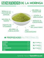 descubre las propiedades nutricionales de la Moringa