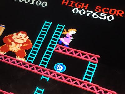 Donkey Kong detail