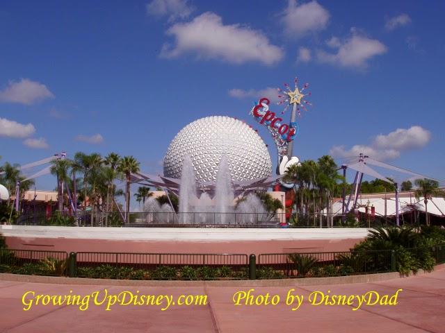 Growing Up Disney: Photo Flashback! Spaceship Earth 2003