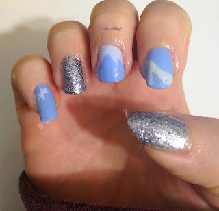 Tinklesmakeup Cinderella Nail Art