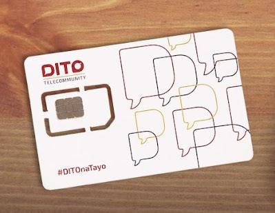 DITO Telecom SIM Card