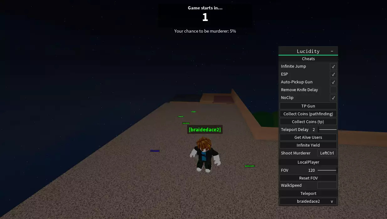 Roblox: Cheats for Murder Mystery 2