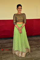 Actress Regina Candra Latest Pos in Green Long Skirt at Nakshatram Movie Teaser Launch  0107.JPG