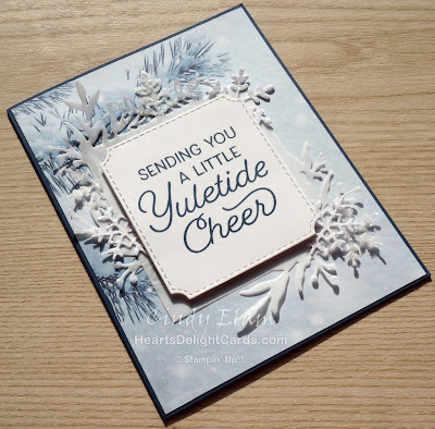 Heart's Delight Cards, Frosted Foliage, Stampin' Up! 2019 Holiday Catalog