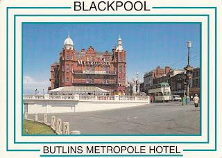 Blackpool. Butlin's Metropole Hotel. E.T.W. Dennis & Sons Ltd. Postally unused