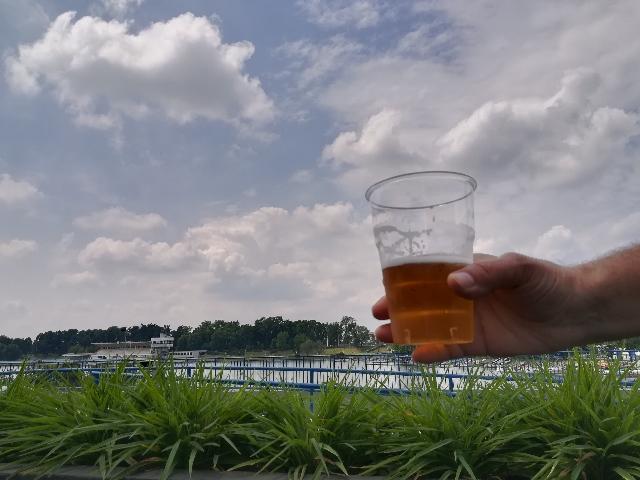 Una birra memorabile all'Idroscalo