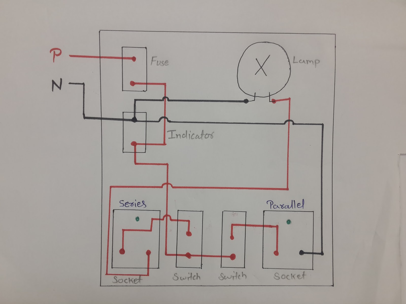 medium resolution of circuit diagram of series test lamp wiring diagram used deepakkumar yadav how series parallel electrical testing