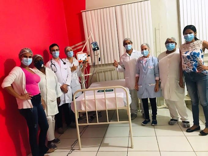 Secretário de Saúde apresenta os respiradores adquiridos pela Prefeitura para ajudar os infectados com o Covid-19