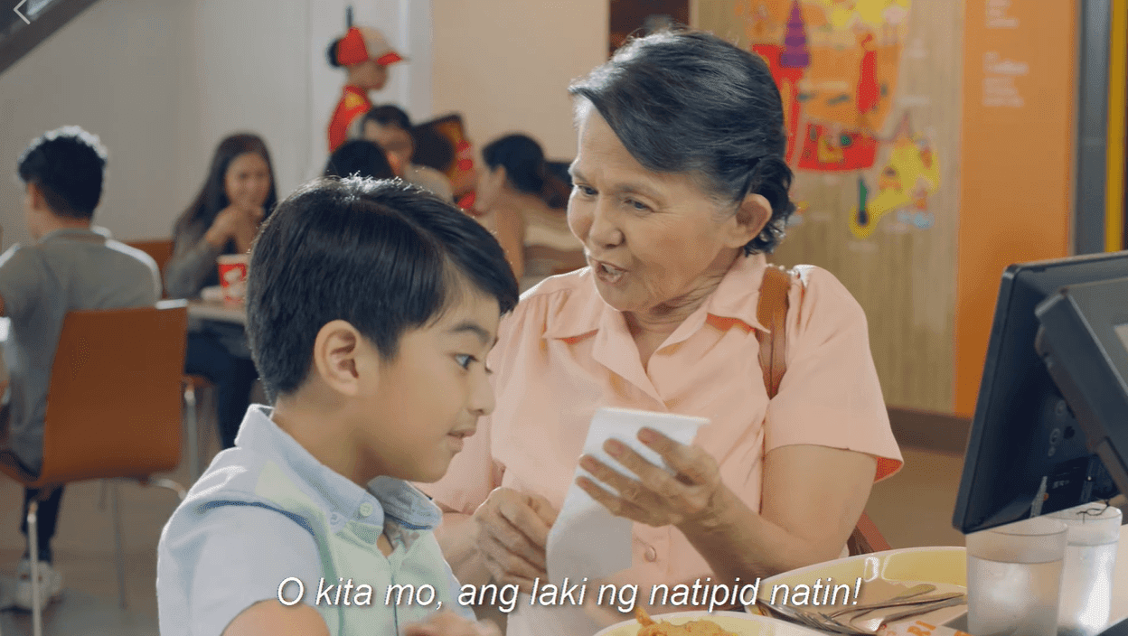 Jollibee warms hearts with ad about 'kuripot' grandma