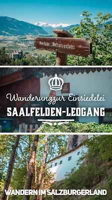 Wanderung zur Einsiedelei St. Georg bei Saalfelden | SalzburgerLand | Wandern Saalfelden-Leogang | Tourenbericht mit GPS-Track