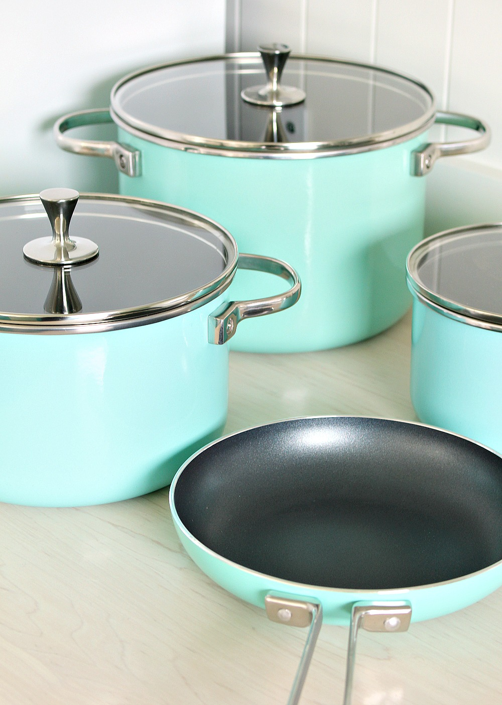 Kate Spade Turquoise Pots and Pans