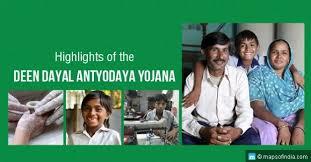 All About Deendayal Antyodaya Yojana-National Urban Livelihood Mission