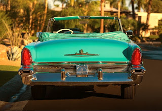1956 Lincoln Premiere Convertible Rear