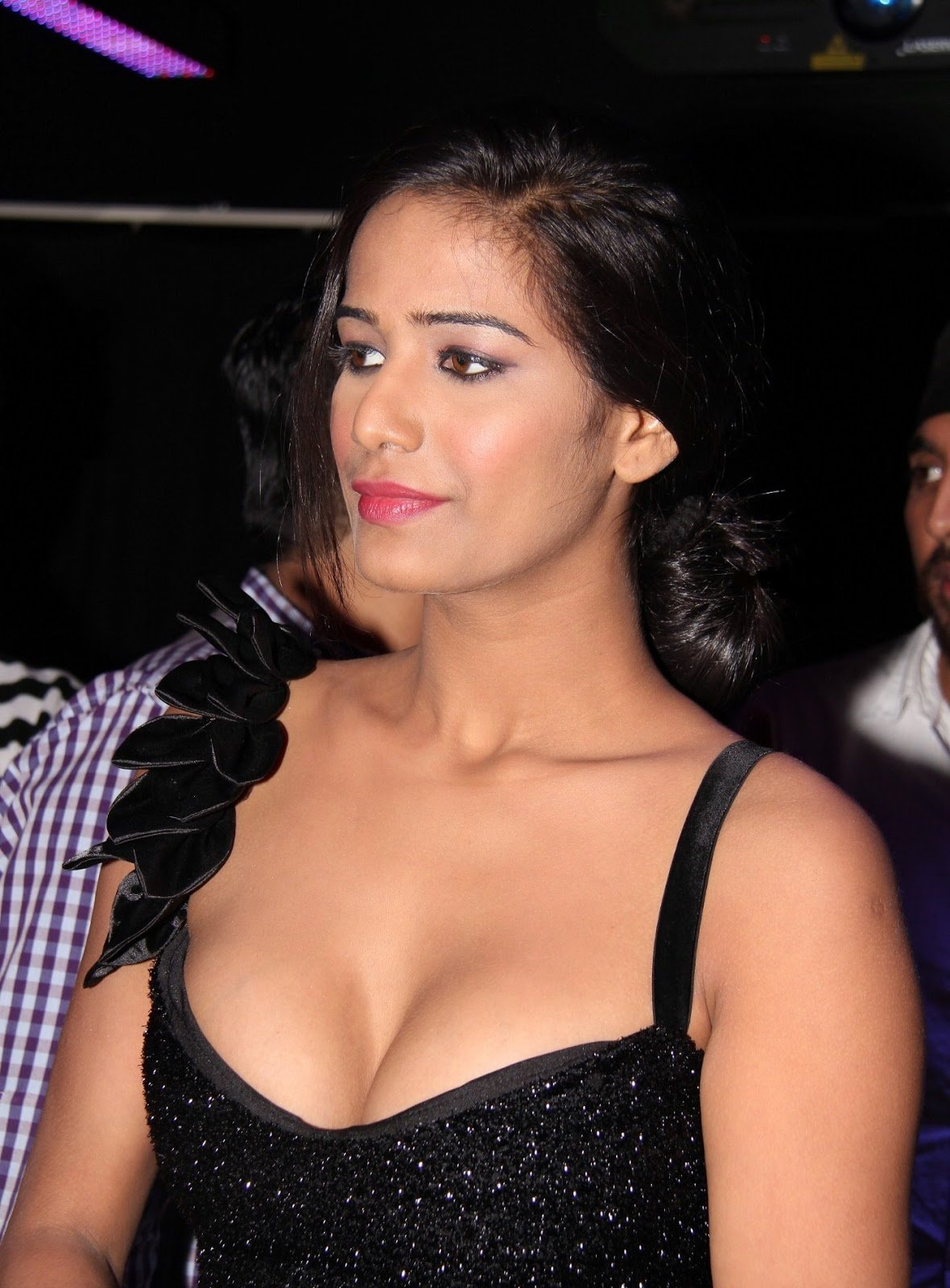 Curves Poonam Pandey New Bollywood Actress Pics 2016 Dirty Picture Hot Painting