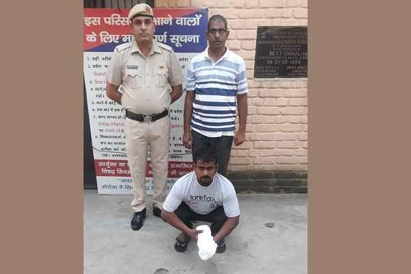 faridabad-uncha-gaon-cia-arrested-ganja-taskar