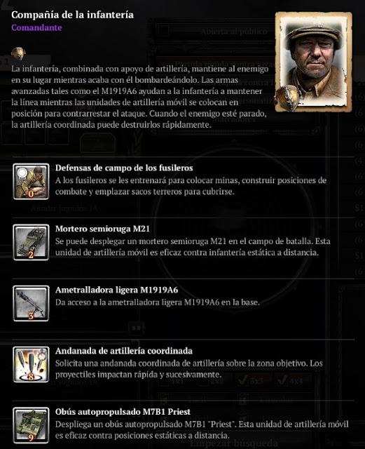Compañia de la infantería
